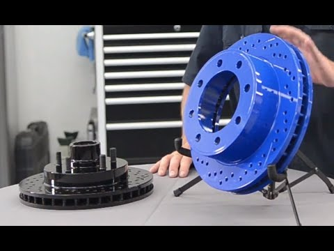 Colored Brake Calipers >> Chrome Brakes - Presented by Andy's Auto Sport - YouTube