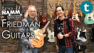 NAMM 2018 | New Dave Friedman Guitars | Talk feat. Grover Jackson