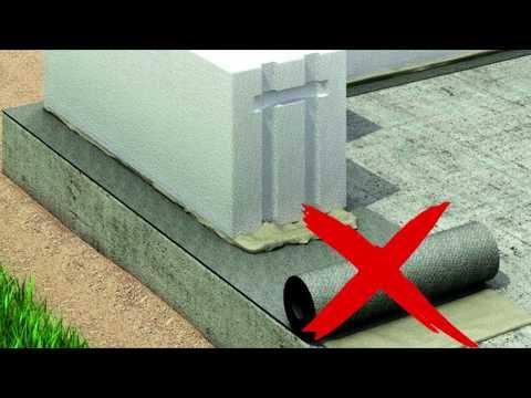 Гидроизоляция стены не нужна?