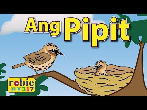 Ang Pipit Animated   Filipino / Tagalog Folk Song   Awiting Pambata
