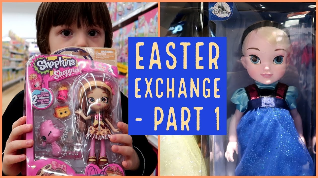 Easter gift ideas box gift exchange part 1 shopping with kid easter gift ideas box gift exchange part 1 shopping with kid youtube collaboration negle Image collections