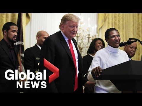Donald Trump hosts Black History Month event at White House