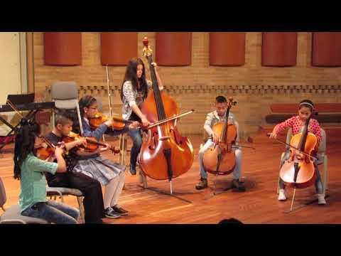 Grupo De Cuerdas Iniciación, Concierto Final Semestre MFA 2017 1