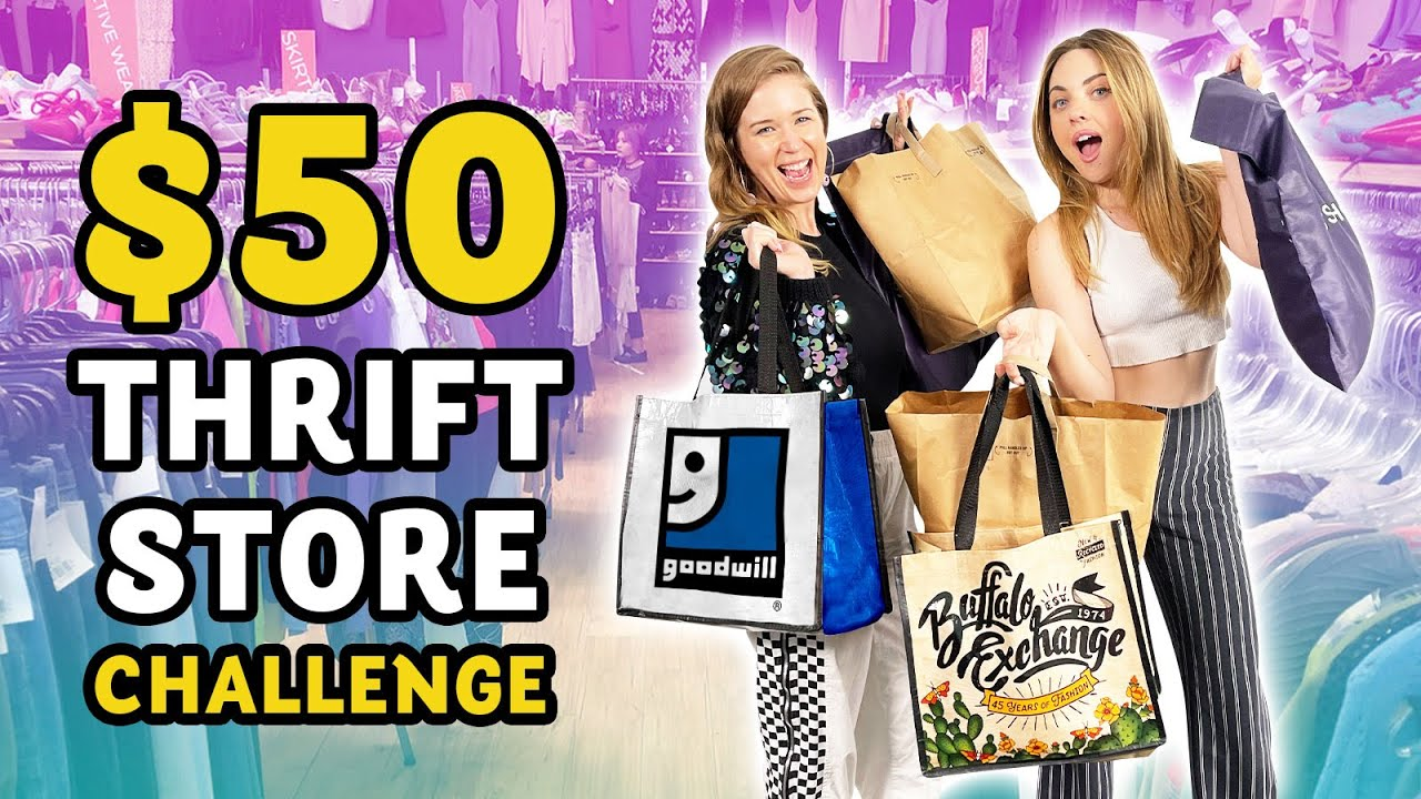 $50 Thrift Store Challenge!