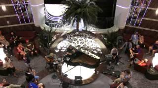 Aron Magnor & Tom Hamilton - Franklin's Tower 1/5/14 Jam Cruise Atrium piano set