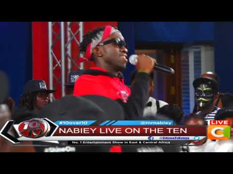 Nabiey performing #Girl Live #10Over10