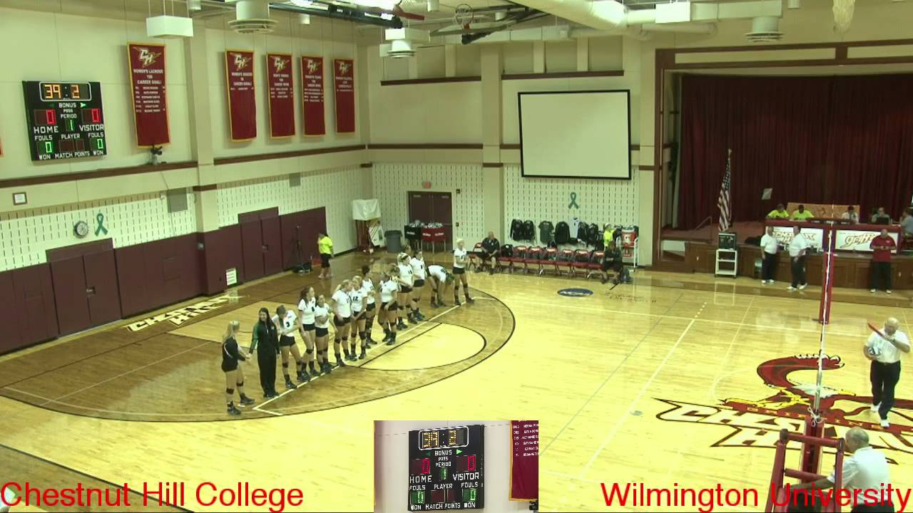 Volleyball - Chestnut Hill College vs Wilmington ...