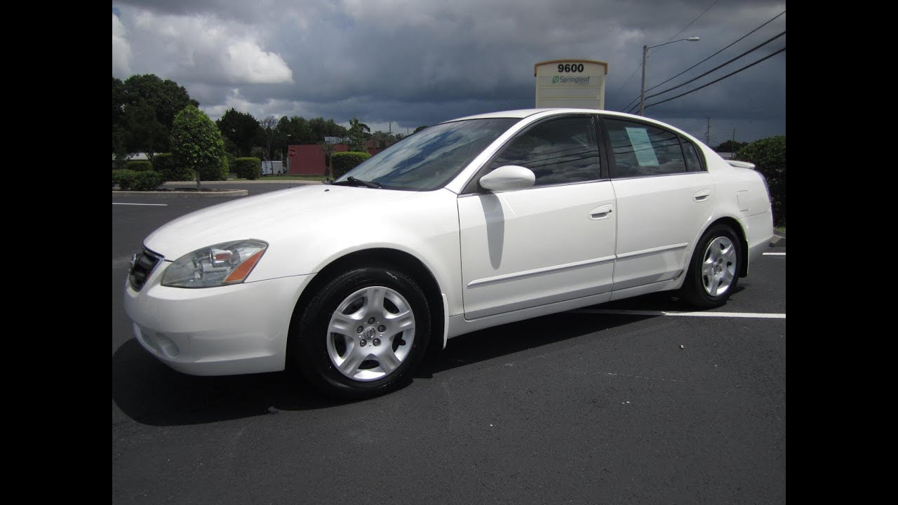 SOLD 2003 Nissan Altima 2.5 S Meticulous Motors Inc Florida For Sale