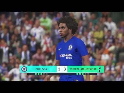 CHELSEA VS TOTTENHAM | EPL English Premier League | PENALTY SHOOTOUT!!!  GAMEPLAY PES 2019