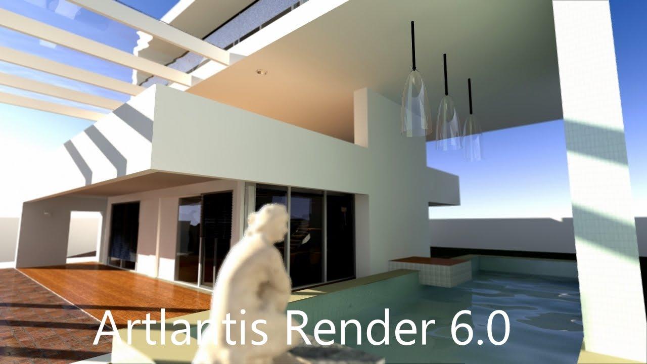 tutorial artlantis render 6 progetto completo part 01. Black Bedroom Furniture Sets. Home Design Ideas