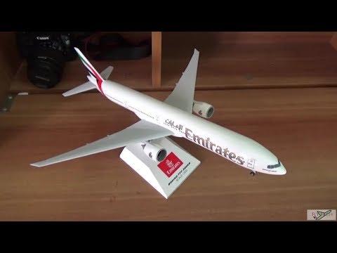Unboxing : Emirates Boeing 777-300ER 1:200 scale model