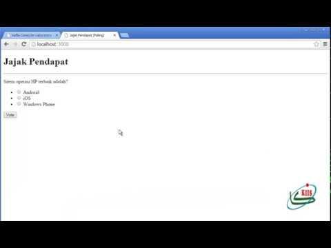 Membuat Polling Sederhana dengan PHP