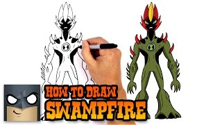 How to Draw Swampfire | Ben 10