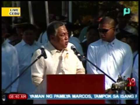 [Part 4/] EDSA 28 - Speech of Cebu Gov. Davide; 28th Anniv. of EDSA People Power Rev. [02/25/14]