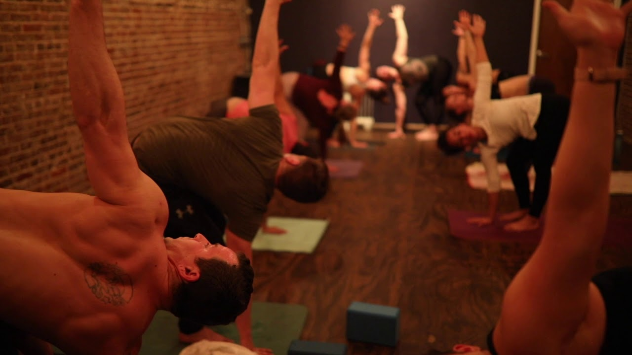 The Up Factory - Hot Yoga For Athletes