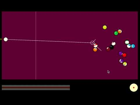Pool demo created with Corona