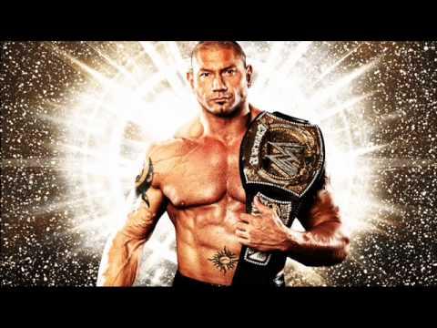 WWE BATISTA 2ND THEME I WALK ALONE WITH LYRICS