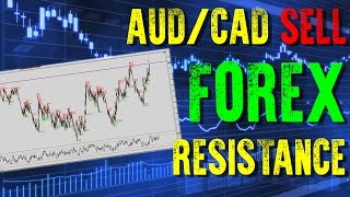 FOREX TRADING - AUDCAD SELL