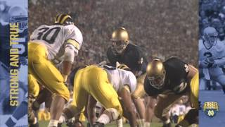 1990 vs. Michigan - 125 Years of Notre Dame Football - Moment #030