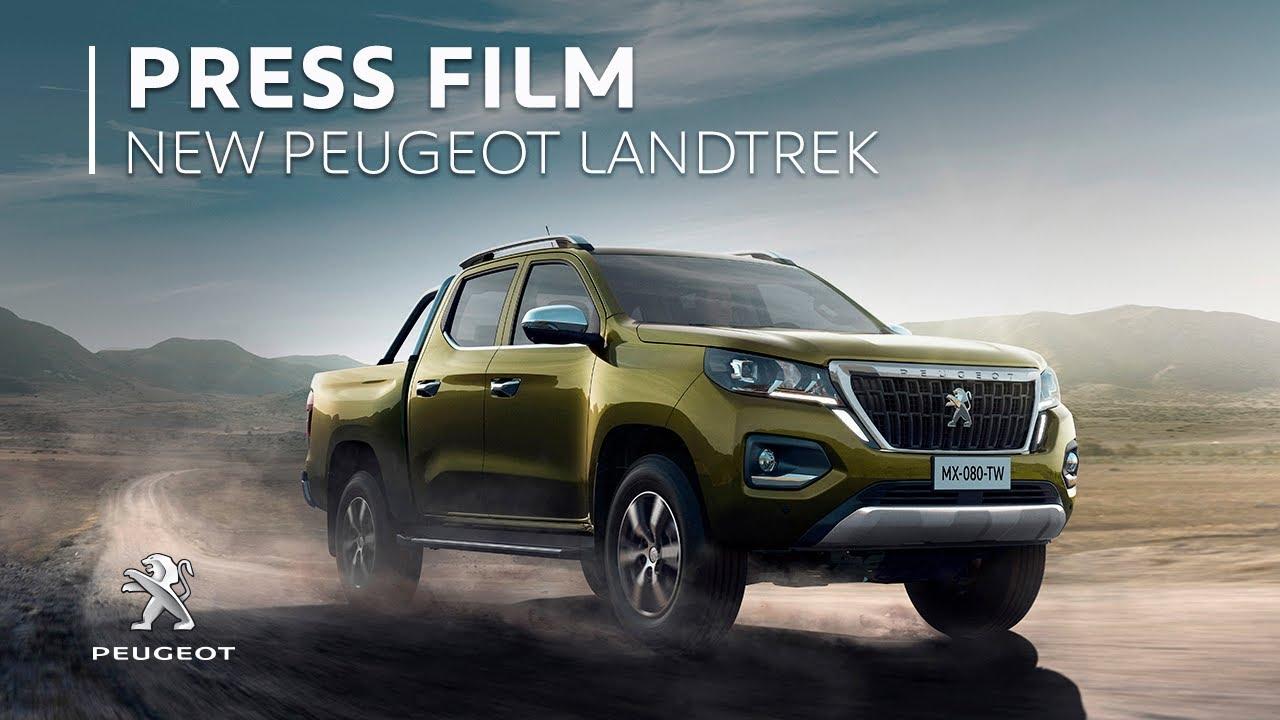 Mẫu xe bán tải Peugeot Landtrek sắp ra mắt
