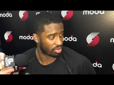 Trail Blazers' Wesley Matthews previews matchup with Grizzlies