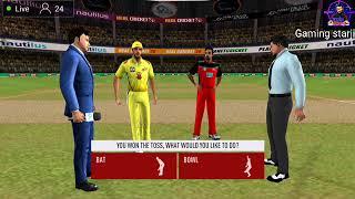 Real Cricket ™ 20 Live Streaming ( RCB VS CSK)