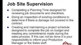 Lead Carpenter Job Description