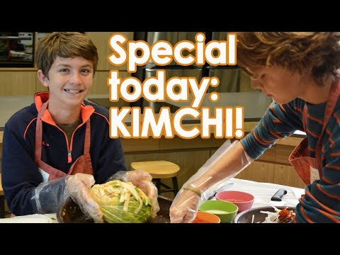 Family Cooking Class: Making Kimchi in South Korea