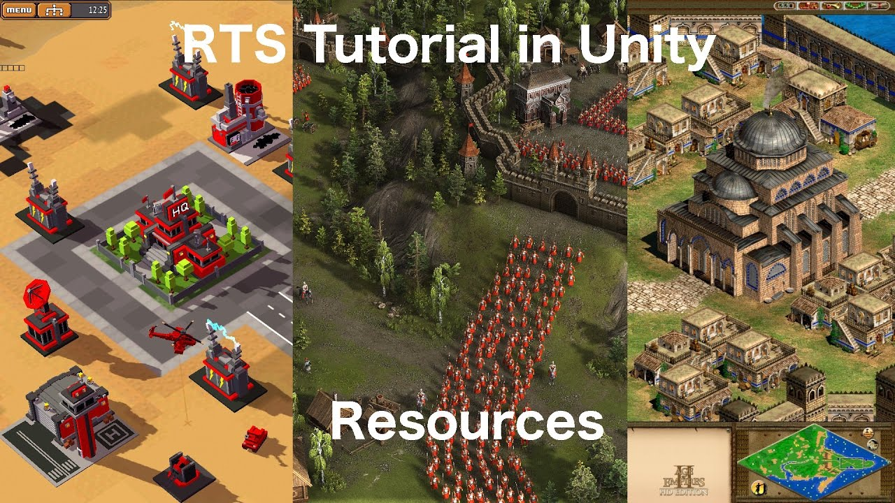 Real Time Strategy in Unity - Resources