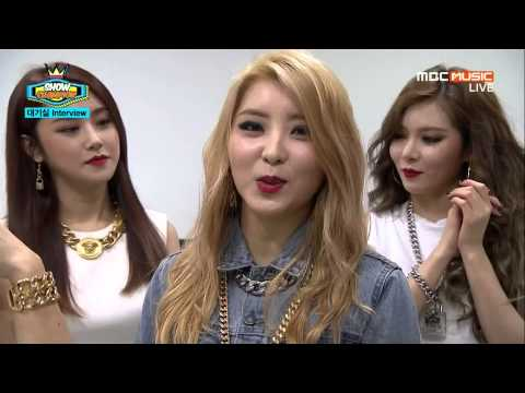 150225 4Minute - Interview @Show Champion