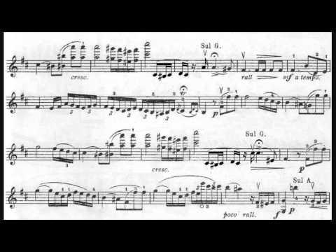 Wieniawski - Polonaise de concert No. 1 in D major, Op. 4 (1852)