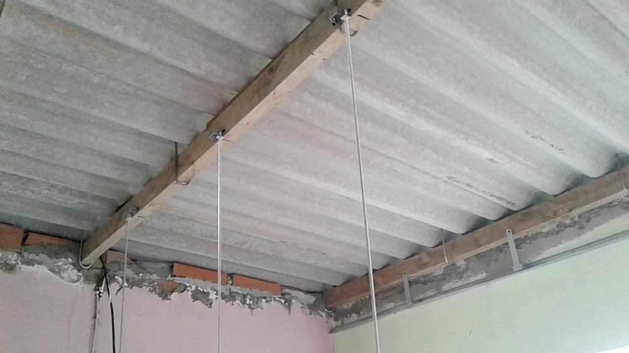 comment poser un faux plafond pvc eps 2  youtube