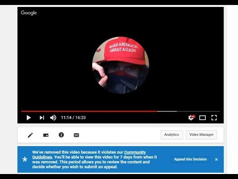 Google Hangouts Sniping & YouTube Livestream Hijack, Channel Takedowns, and SJW Shenanigans