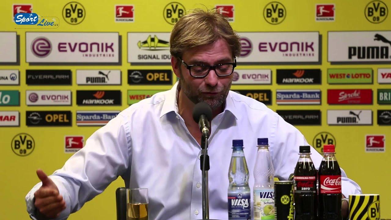 BVB Pressekonferenz Spezial vom 18. April 2013 mit Jürgen Klopp Champions League
