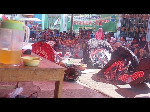 JARANAN BANRONGAN WKS Warogo Kembang Sore Live Barat Pasar Kliwon KUman
