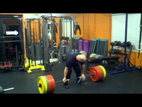 415 Deadlift plus Bands