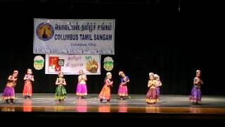 Kids 2016 Tamil Sangam Bharatanatyam Dance