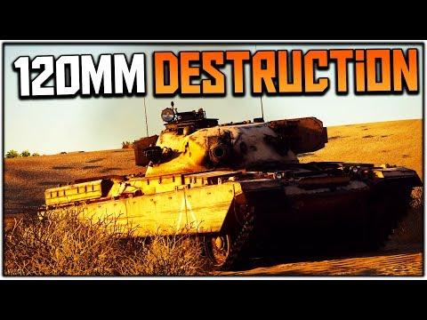 120mm DESTRUCTION | Chieftain (War Thunder Tank Gameplay)