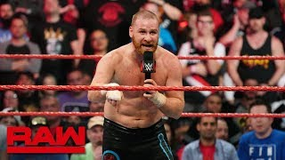"Returning Sami Zayn deems WWE a ""toxic environment"": Raw, April 8, 2019"