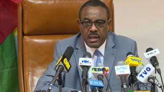 ETHIOPIA - Prime Minster Hailemariam Desalegn Press brief - Part 2 | April 20, 2017