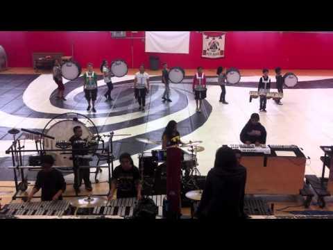 Carquinez Middle School 2014 Winter Percussion
