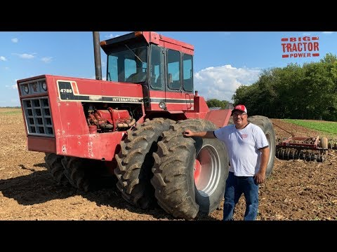I Bought A Tractor: 1981 International 4786 4wd