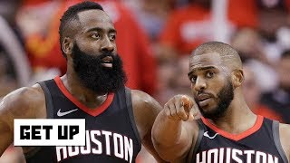 Harden-CP3 alleged beef is 'the door slamming shut' on the Rockets' title hopes - Greenberg | Get Up