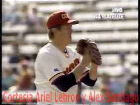 1990 Good Will Games Puerto Rico vs Union Sovietica+ Beisbol