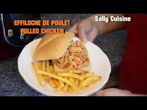 effiloche-de-poulet-/-pulled-chicken-au-cookeo-|-sally-cuisine-{episode-11}