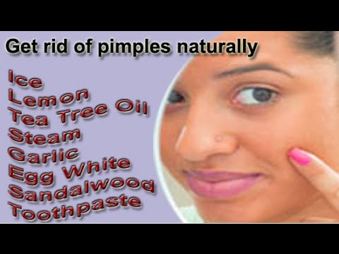 How To Remove Small Pimples From Face Naturally