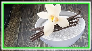 как сделать ванильный сахар - очень простой рецепт