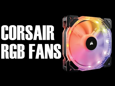 Corsair SP120 & HD120 RGB Fan Review