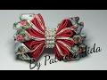 Laço de cetim 💖 Laço Bonequinha Luxuosa 3 💖 DIY 💖 By Patricia Yida