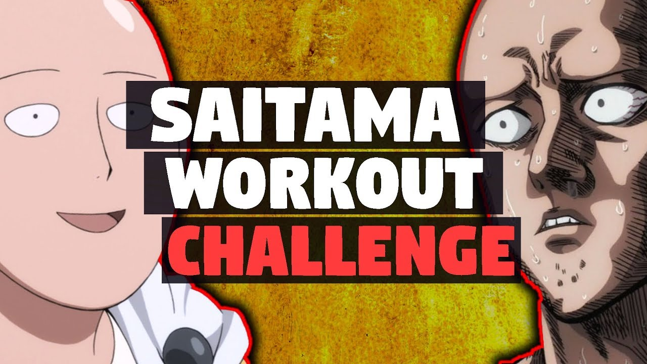 One-Punch Man Workout CHALLENGE 1 Week - YouTube